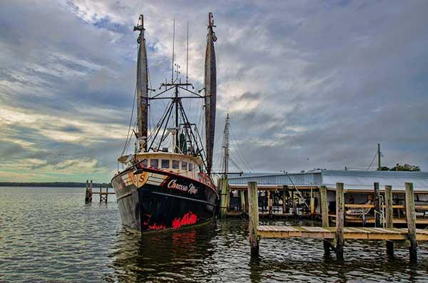 Carolina's Finest Seafood Boat